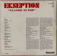 Ekseption - Classic In Pop (LP, Club Ed.) (used VG+)