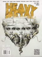 Heavy Metal Issue No. 290 (Comic Buch, Deadly Special) (gebraucht VG)