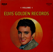 Elvis Presley - Elvis Golden Records Volume 1 (LP, Comp.) (gebraucht G)