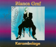 Bianca Graf - Karambolage (CD, Single, signiert) (gebraucht VG)