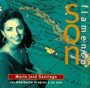 Mar�a Jos� Santiago y Adalberto Alvarez - Son Flamenco (CD, Album) (gebraucht VG)