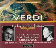 Verdi: La Forza del Destino (3CD, Live) (gebraucht VG+)