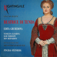 Beatrice Di Tenda - Vincenzo Bellini - Edita Gruberova (2CD, Live) (gebraucht VG+)
