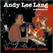 Andy Lee Lang - 10th Anniversary - Live (CD, Album, signiert) (gebraucht VG)