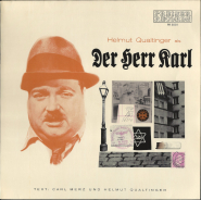 Helmut Qualtinger - Der Herr Karl (LP, Vinyl, Reissue) (gebraucht VG)