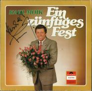 Karl Moik - Ein z�nftiges Fest (LP, Album, signiert) (used VG)
