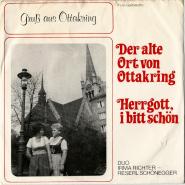 Duo Irma Richter - Reserl Sch�negger - Der Alte Ort Von Ottakring (Vinyl, 7) (gebraucht G-)