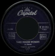 Wanda Jackson - Lost Week-End / Hard Headed Woman (7, Vinyl, Single) (gebraucht G-)