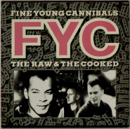Fine Young Cannibals - The Raw & The Cooked (LP, Album) (gebraucht VG)