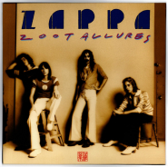 Frank Zappa - Zoot Allures (LP, 180 g.) (gebraucht VG+)