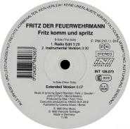 Fritz Der Feuerwehrmann - Fritz Komm Und Spritz (12  Maxi Single) (gebraucht VG)
