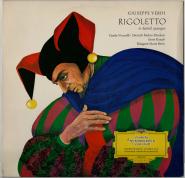 Giuseppe Verdi - Rigoletto (in deutsch gesungen) (LP, Album) (gebraucht VG)