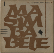 Helmut Zerlett / Stefan Krachten - The Unknown Cases - Masimba Bele (12, Maxi Single) (used G+)