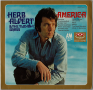 Herb Alpert & The Tijuana Brass - America (LP, Comp.) (gebraucht VG)