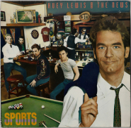 Huey Lewis And The News - Sports (LP, Album) (gebraucht VG-)