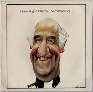Kaplan August Paterno - Nachdenkliches (LP, Album) (used VG)