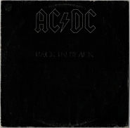 AC/DC - Back in Black (LP, Album) (used VG-)