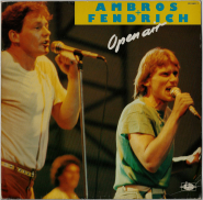 Ambros + Fendrich - Open Air (LP, Live) (used VG-)