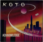 Koto - Acknowledge (12, Vinyl) (used G+)