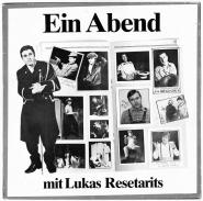 Lukas Resetarits - Ein Abend Mit Lukas Resetarits (LP, Album) (gebraucht VG)