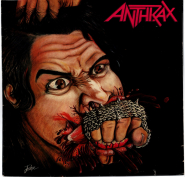 Anthrax - Fistful Of Metal (LP, Album) (used VG)
