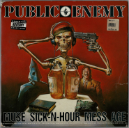 Public Enemy - Muse Sick-N-Hour Mess Age (2xLP, Vinyl) (used G-)