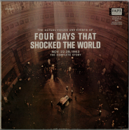 Reid Collins - Four Days That Shocked The World (LP, Hörbuch) (gebraucht VG)