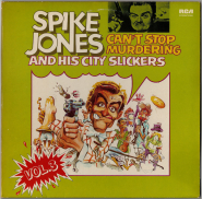 Spike Jones - Cant Stop Murdering Vol. 3 (2xLP, Comp.) (gebraucht VG)