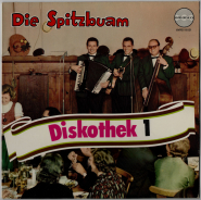 Spitzbuam Diskothek 1 (LP, Vinyl) (gebraucht VG-)