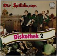 Spitzbuam Diskothek 2 (LP, Vinyl) (gebraucht VG)