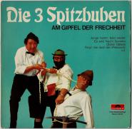 Die 3 Spitzbuam - Am Gipfel der Frechheit (LP, Club Ed.) (used G+)
