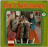 Die 3 Spitzbuben - Das Waren Die 3 Spitzbuben 1 (LP, Vinyl) (used G+)