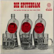 Die Spitzbuam - Ihre großen Erfolge aus dem Jahre 1960 (LP, Comp.) (used VG)