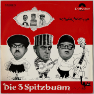 Die 3 Spitzbuben - Schmähtandeleien (LP, Album) (gebraucht VG-)