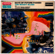 The Moody Blues - Days Of Future Passed (LP, Album) (gebraucht akzeptabel)