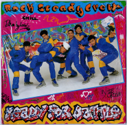 The Rock Steady Crew - Ready For Battle (LP, Album) (used G)