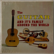 VARIOUS - The Guitar And Its Family Around The World (LP, Comp.) (gebraucht G+)