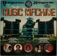 VARIOUS - Music Machine (LP, Comp.) (gebraucht G+)