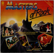 VARIOUS - Masters Of Rock (LP, Comp.) (gebraucht VG)