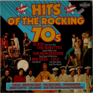 VARIOUS - Hits Of The Rocking 70s (LP, Comp.) (gebraucht VG)