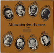 VARIOUS - Altmeister des Humors 2. Folge (LP, Club Ed.) (gebraucht VG)