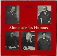 VARIOUS - Altmeister des Humors 1. Folge (LP, Club Ed.) (gebraucht VG)
