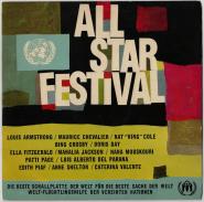 VARIOUS - All-Star Festival (LP, Album) (gebraucht VG)