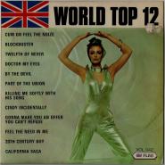UNBEKANNTE Künstler - World Top 12 Vol. 42 (LP, Comp.) (gebraucht G+)
