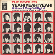 Beatles - A Hard Days Night (LP, Album) (gebraucht)