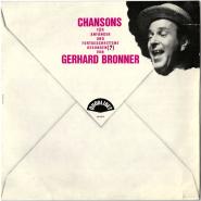 Gerhard Bronner - Chansons für Anfänger und Fortgeschrittene (LP, Album) (gebraucht VG)