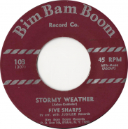 Five Sharps - Stormy Weather / Sleepy Cowboy (7 Single, Reissue) (gebraucht)