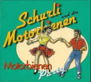 Schurli und die Motorbienen - Motorbienen Party (CD, Digipak) (used VG+)