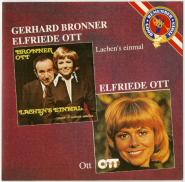 Gerhard Bronner & Elfriede Ott - Lachens einmal (CD, Album) (gebraucht VG+)