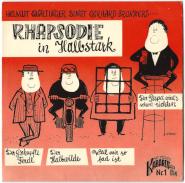 Helmut Qualtinger - Rhapsodie in Halbstark (Single, 7, EP) (gebraucht G)